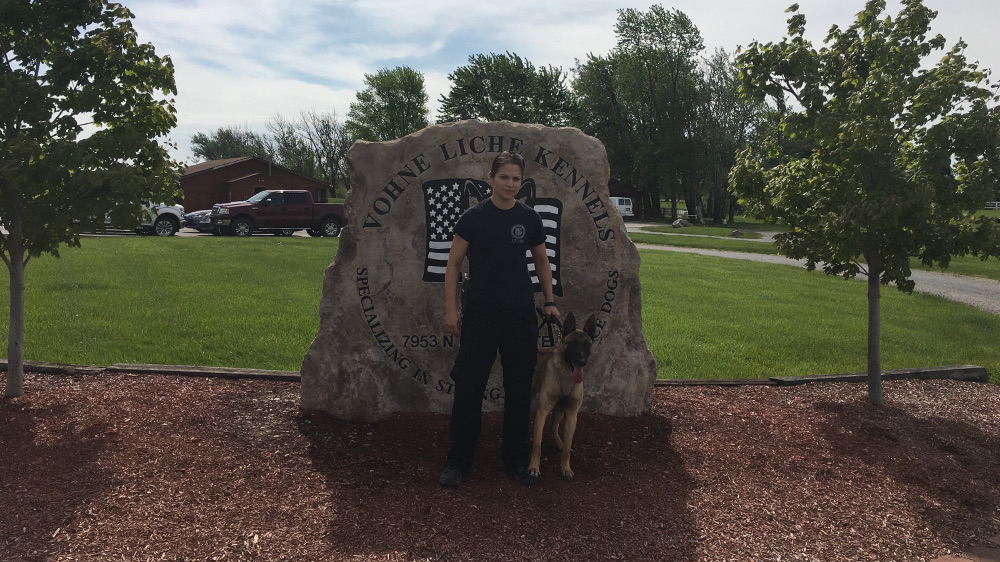 Peru PD IN and K9 Fargo